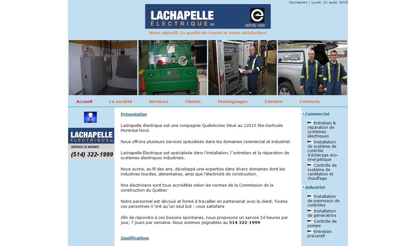 Lachapelle Electrique Inc