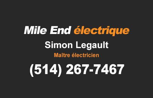 électricien mont-royal mile end westmount ahuntsic